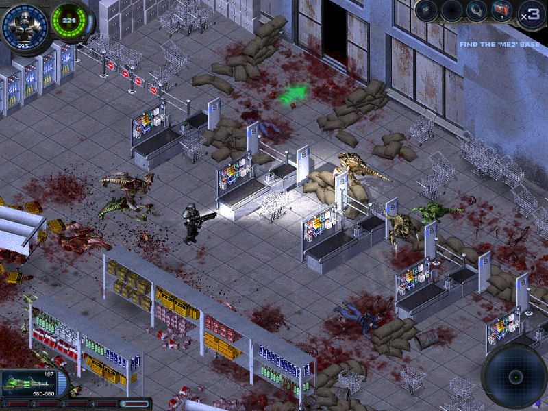 Многоуровневые изображения экшен-проекта Alien Shooter 2 - Перезагрузка (Al